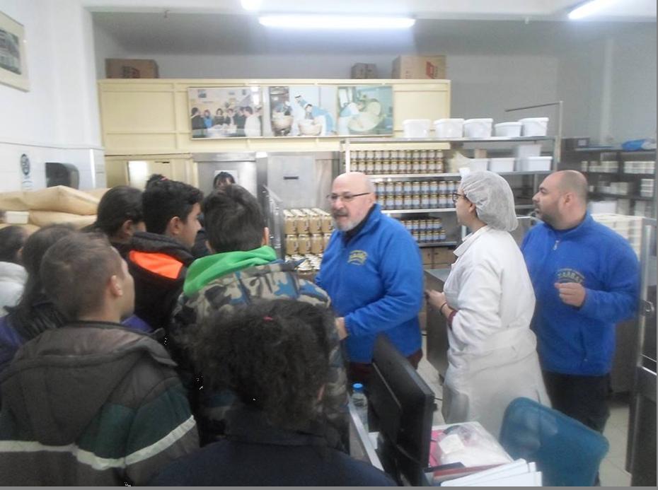 Εργαστήριο παρασκευής παραδοσιακού Χαλβά «Κοσμίδης»
